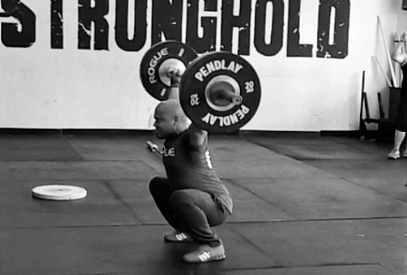 Ray Overhead Squat, shoulder hurts when weightlifting