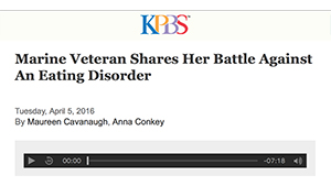 Dr. T on KPBS Midday Edition talking about Warrior