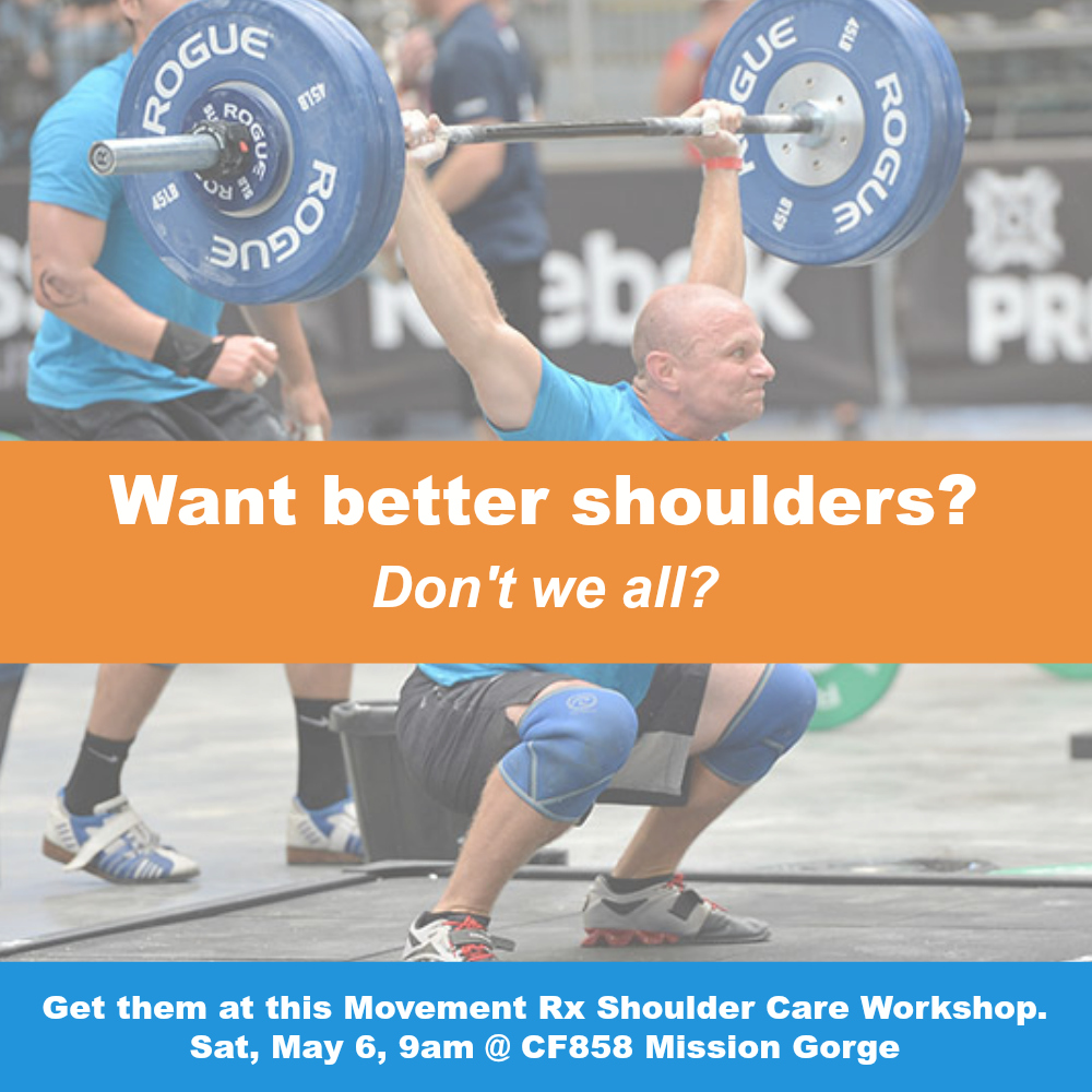 Shoulder pain workshops San Diego